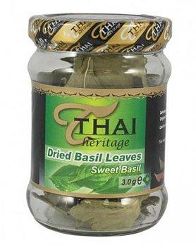 Sweet basil leavs - 12 x 3 g