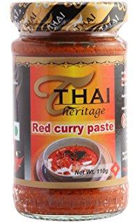 red curry paste- 12x220g