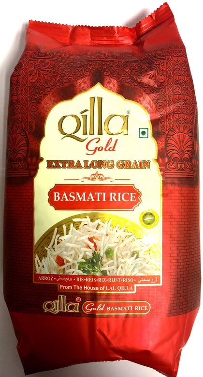 Qilla gold extra long grain basmati rice- 10x2 kg