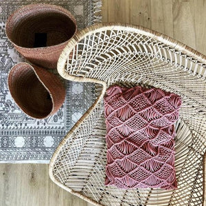 bohemian braid hk living egg chair