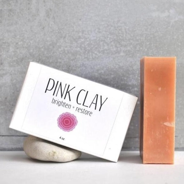 Soap - pink clay