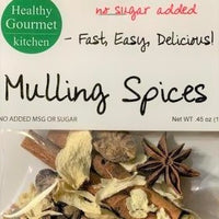 mulling spices in a bag