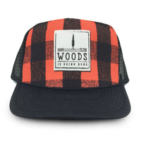 HMD | Buffalo Plaid Trucker Hat