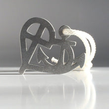 faith love and hope symbol in a pendant