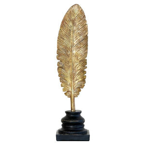 golden feather object by hk living