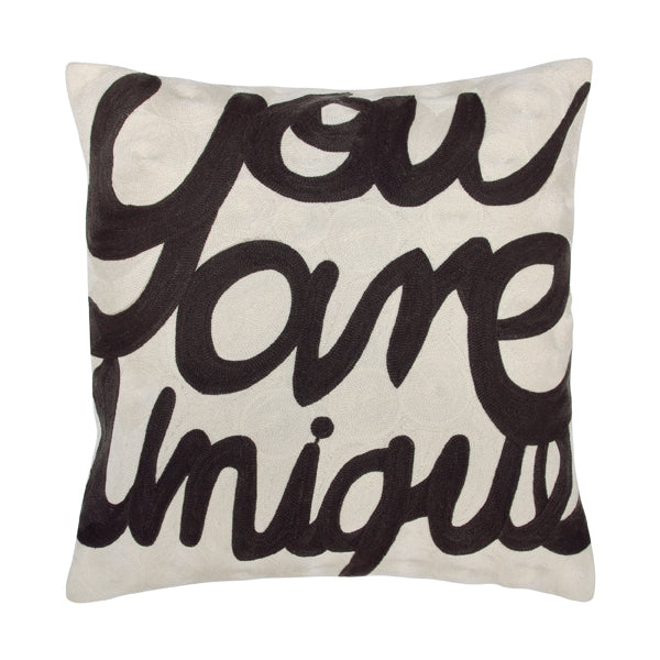 Throw pillow - You are unique