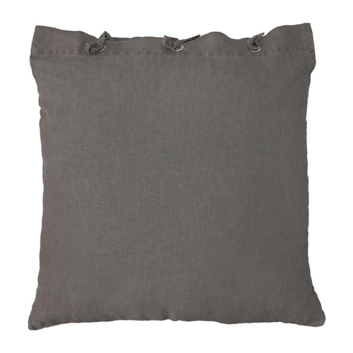 Linen pillow - taupe