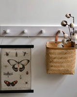 hkliving usa cotton wall hanger with butterfly
