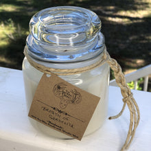 Wooden wick soy candle - Breath of Gardenia