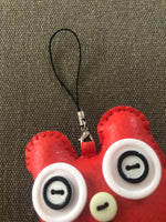 Funky bag charm - my red friend