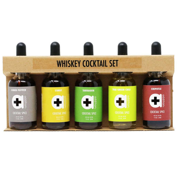 gift set with 4 spice extracts to spice up drinks