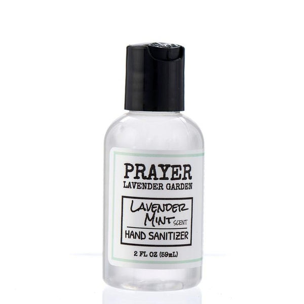 hand sanitizer with lavender mint smell