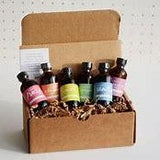 pink lemon shop gift set of 6 organic baking extracts
