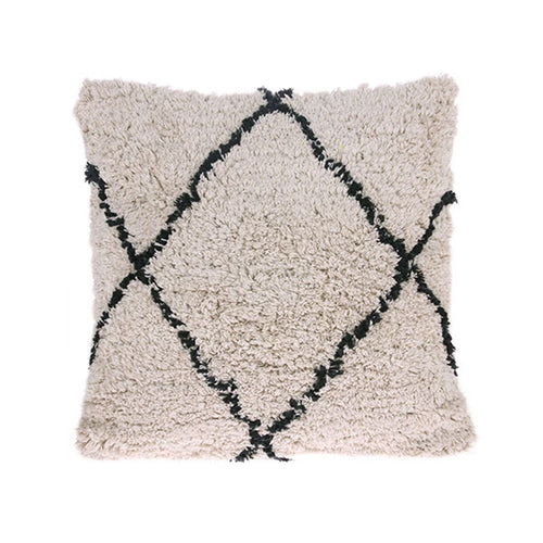 Cotton throw pillow - Diamond