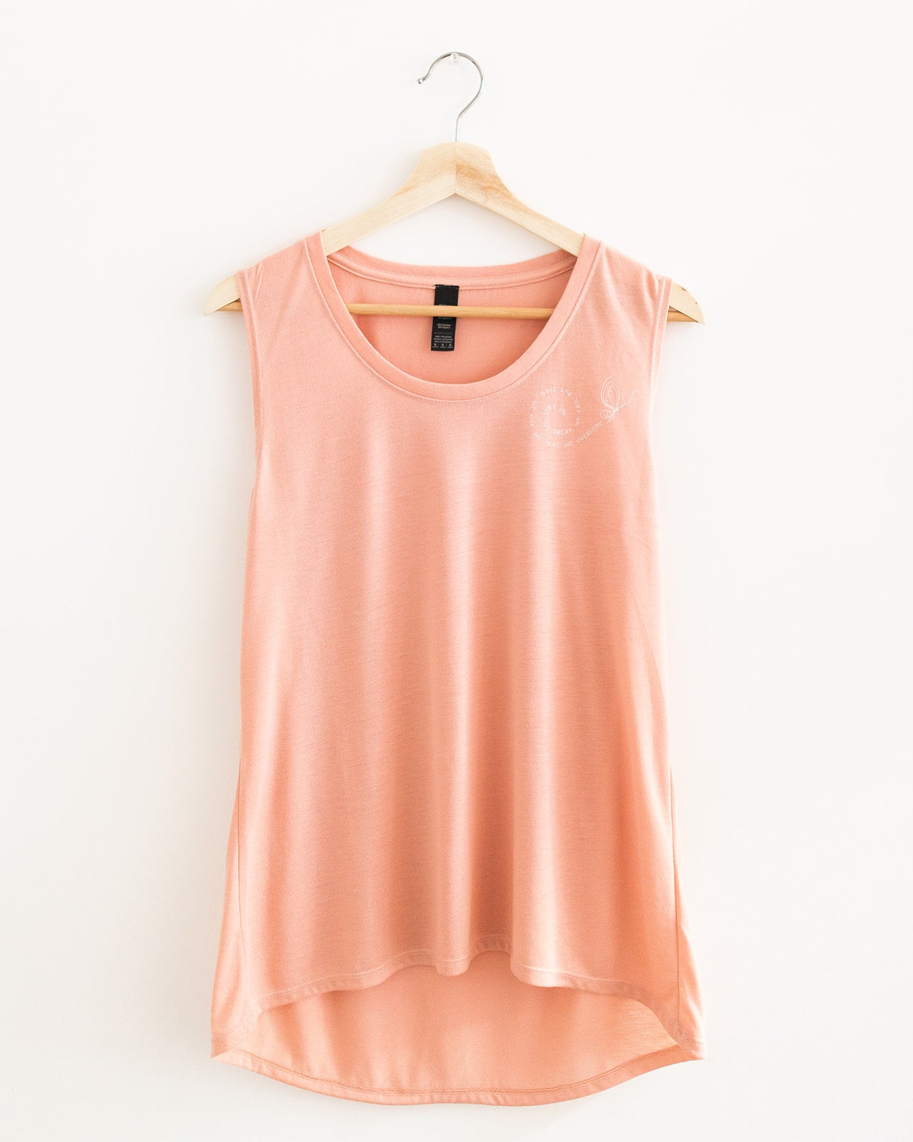 We overcome - Women's Flowy Tank - Blush
