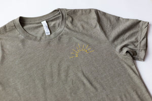 Resilient Sun - Unisex T - Olive Green