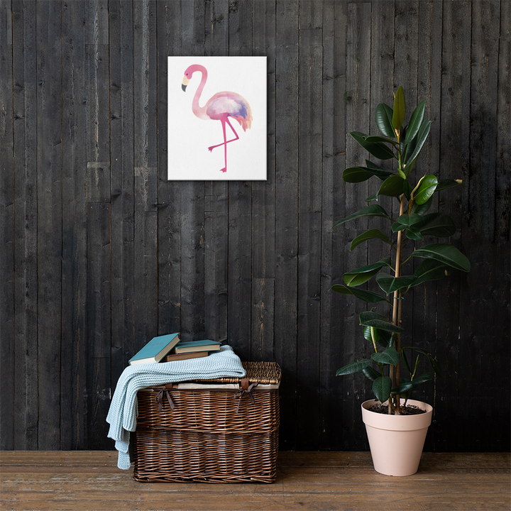 Flamingo - Canvas - Design Cloud