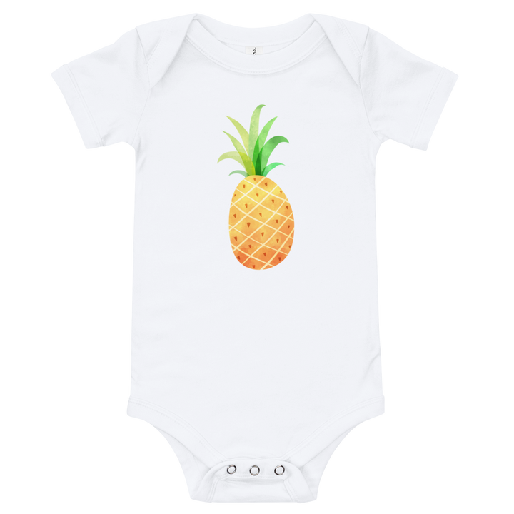 Pineapple baby rumper/bodysuit - Design Cloud