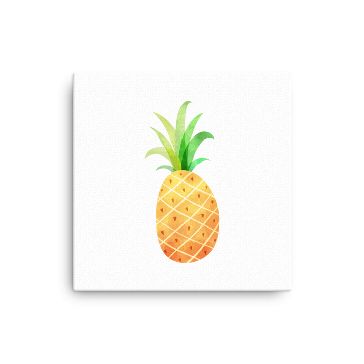 Pineapple - Canvas print - Design Cloud