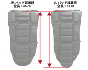 "YOROI JUNIOR Backbone Guard ""WAKA"" Power YR351"