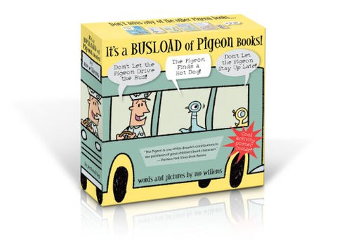 It'S A Busload Of Pigeon Books! (New Isbn)