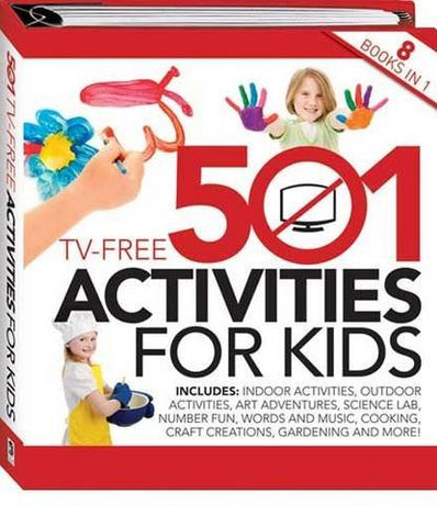 501 Tv Free Activities For Kids (Binder)