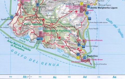 Cinque Terre Italy 1 50 000 Hiking Map Gps Compatible Fortisbook Ca