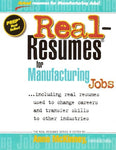 Real-Resumes For Manufacturing Jobs