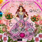 The Dresses Of Princess Salom Coloring Book (For Children)