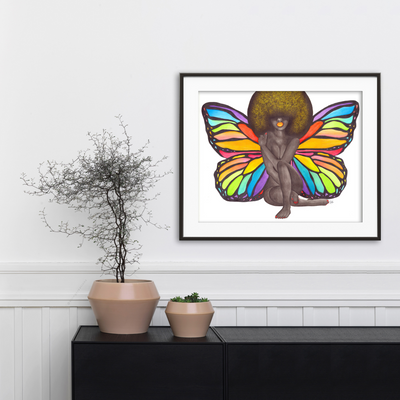 Embracing Change Art Print