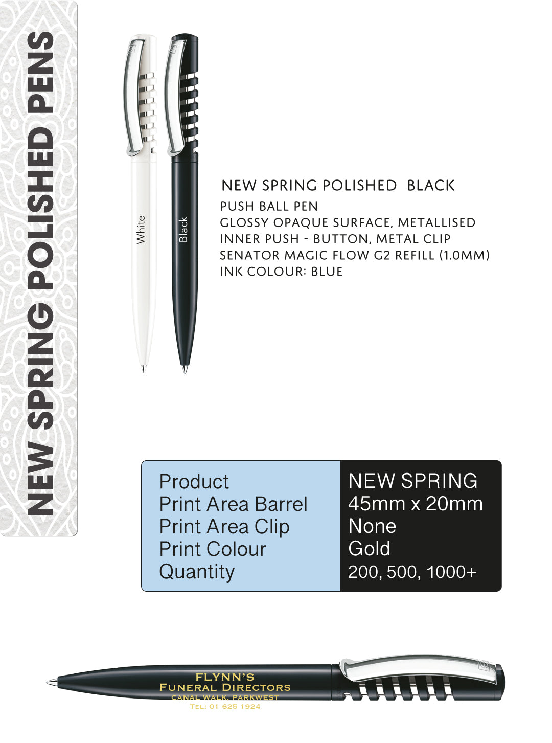 New Spring Polished Pens
