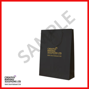 SMALL BRANDED LUXURY PRESENTATION BAGS MATT