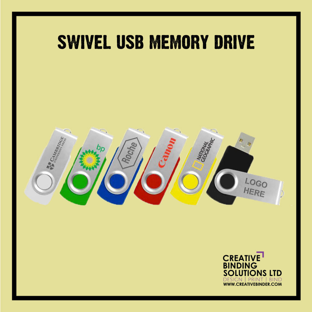 CLASSIC SWIVEL USB FLASH MEMORY DRIVE