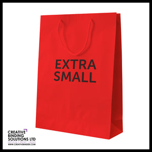 EXTRA SMALL PRESENTATION MATT BAGS