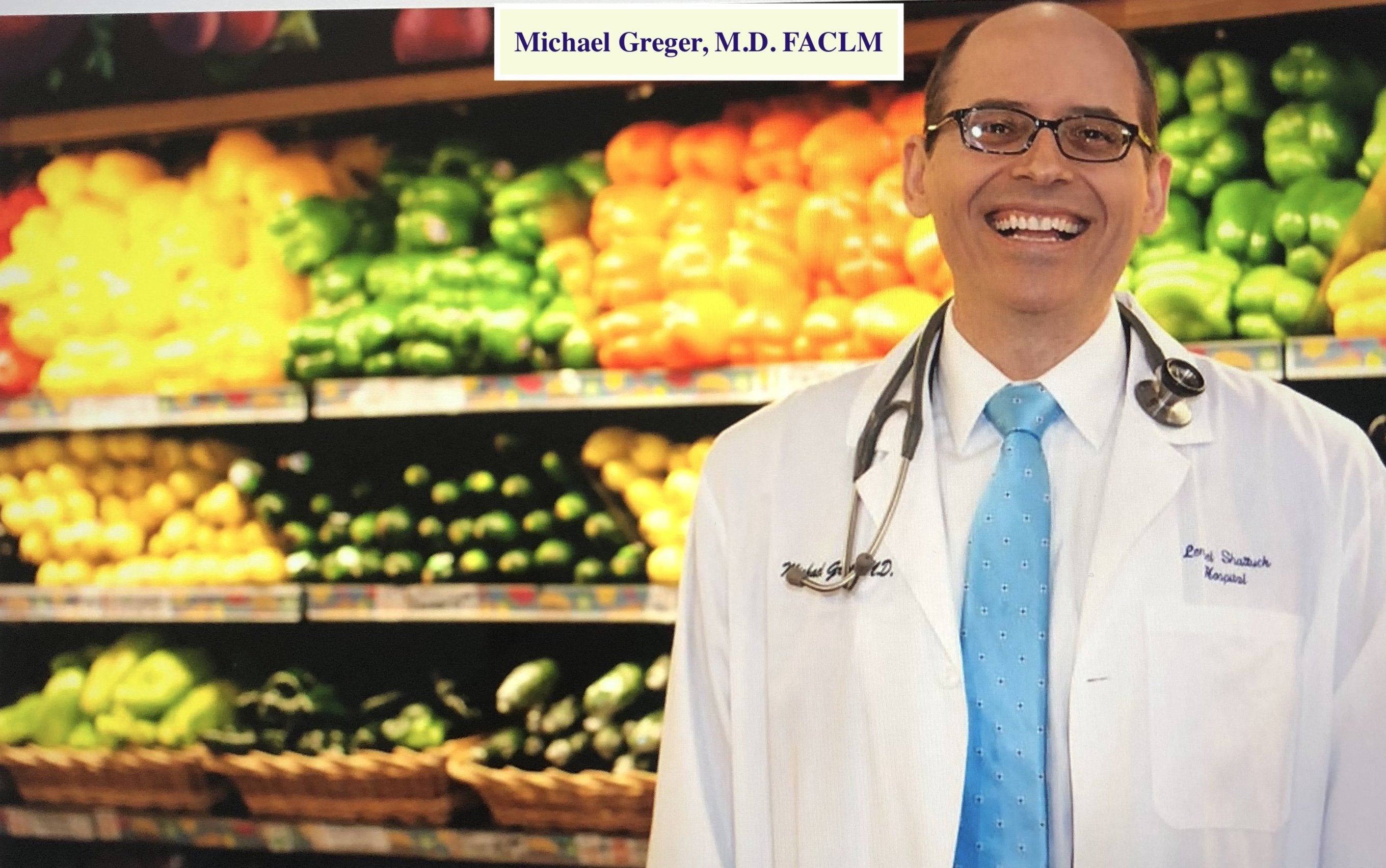 "Michael Greger, M.D. FACLM:""Why You Should Care About Nutrition"""