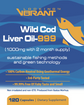 Wild Cod Liver Oil-999 (Iceland. 2-Month Supply) - lookingvibrantcom