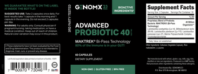 ADVANCED PROBIOTIC 40 (Billion - lookingvibrantcom