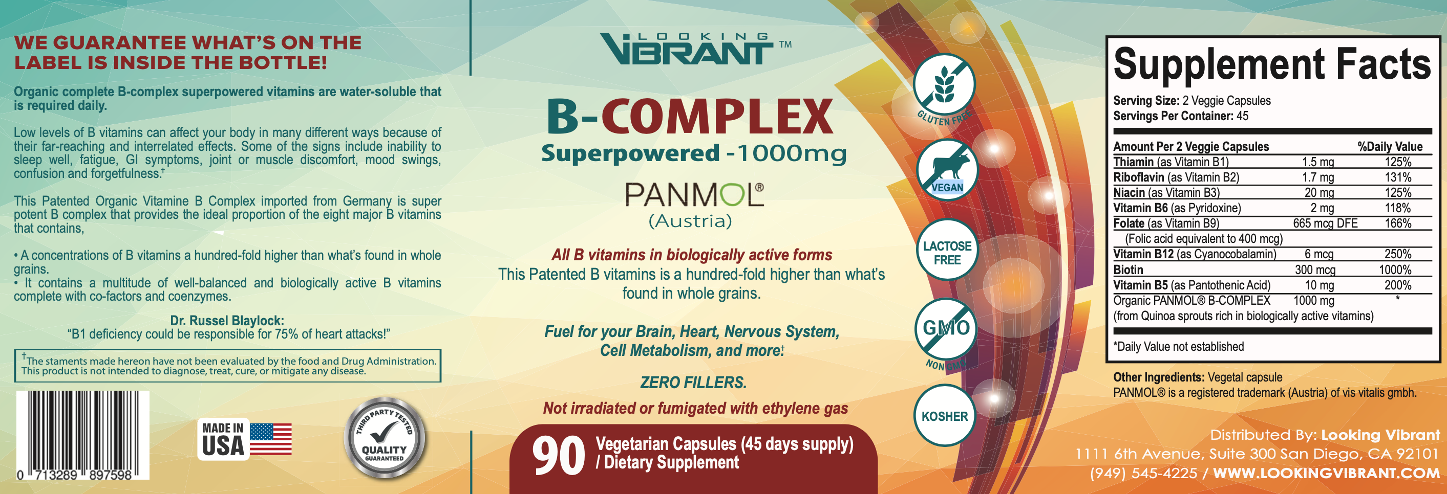 B-COMPLEX Superpowered-1000mg
