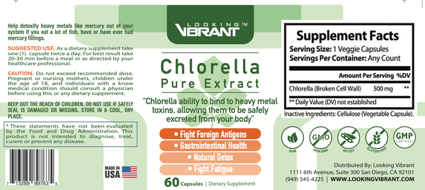 Chlorella Pure Extract - lookingvibrantcom
