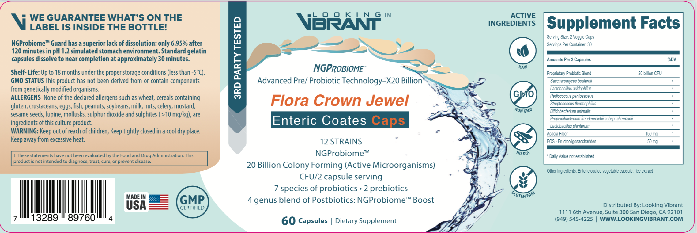 Advanced Pre/Probiotic Technology-X20 - lookingvibrantcom