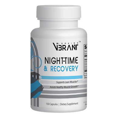 Night-Time & Recovery (BCAA or Branched Chain Amino Acids) - lookingvibrantcom