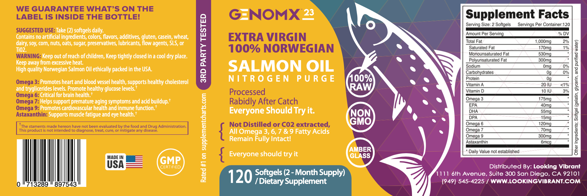 SALMON OIL - lookingvibrantcom