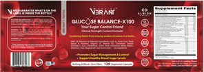GLUCOSE BALANCE-X100 (100% Mother Nature) - lookingvibrantcom
