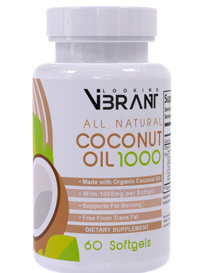 COCONUT OIL 1000  (Extra in MDT's) - lookingvibrantcom