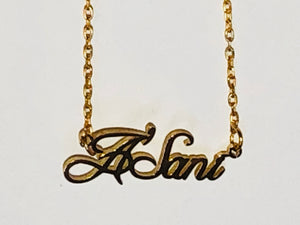 Classic Kids Personalized Necklace