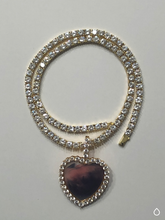 Load image into Gallery viewer, Heart Photo Necklace