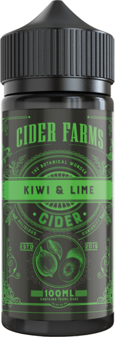 Cider Farms | Kiwi & Lime 100ml