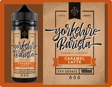 Load image into Gallery viewer, Yorkshire Barista | Caramel Latte 100ml