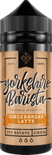Load image into Gallery viewer, Yorkshire Barista | Gingerbread Latte 100ml
