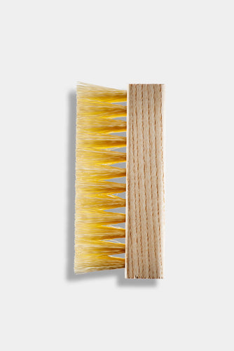 Standard Brush with synthetic bristles and wood handle